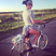 14. Katy Perry flashes her bum whilst riding her bike.
