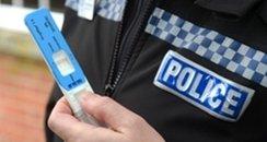Police roadside drug test kit