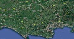 Dorset map