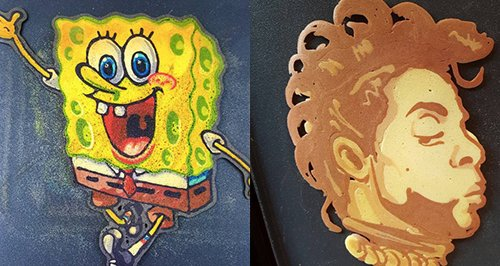 Amazing cartoon pancake creations