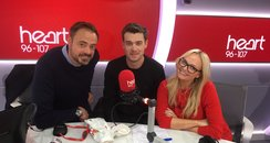 Jack Whitehall With Jamie And Emma