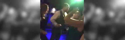 James Dancing