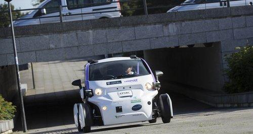 MK Driverless Car 1