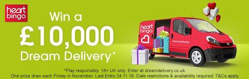 Heart Bingo Dream Delivery