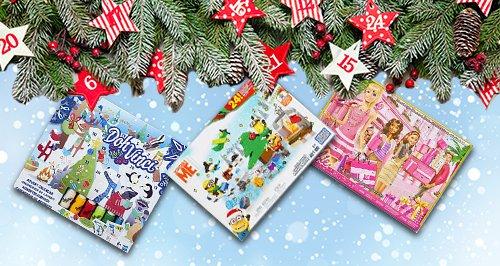 Kids Advent Calendar Canvas