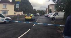 Scene of Drumchapel Attempted murder