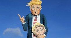 Donald Trump effigy2