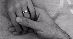 Ben Haenow engagement ring photo