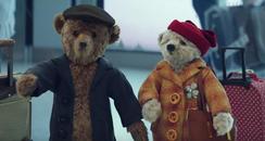 Heathrow bears Xmas Advert