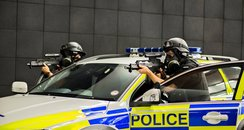 Northumbria Police Firearms officers