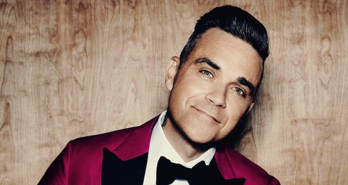 Robbie Williams press shot