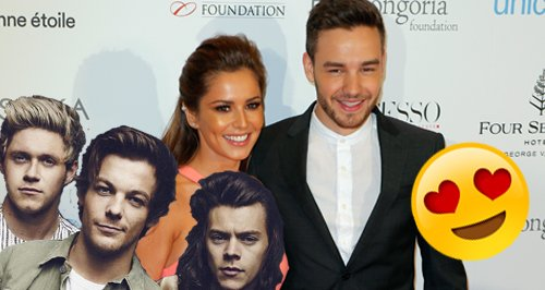 Cheryl and Liam One Direction
