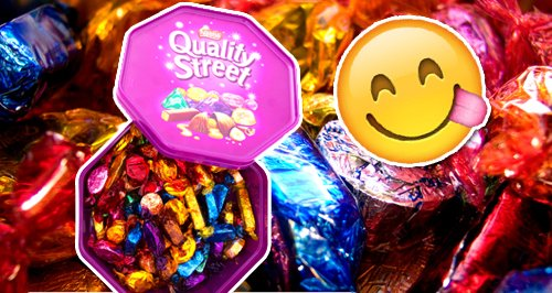 Quality Street Tin Canvas
