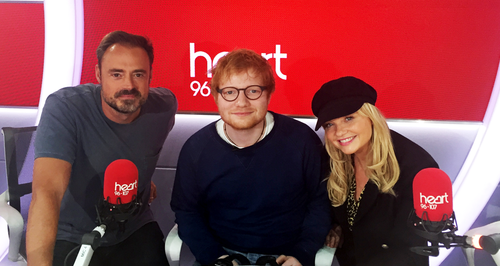 Ed Sheeran Heart Breakfast