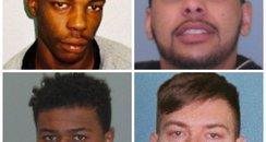Shropshire stabbing men jailed