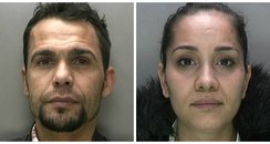 Vasile couple - shoplifters Birmingham