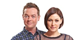 Emma Willis and Stephen Mulhern, full length prese
