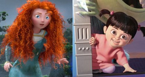 Monsters Inc and Brave