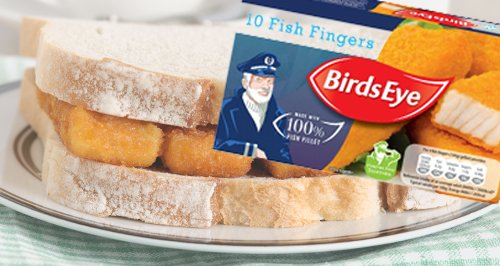 Fish Fingers Canvas