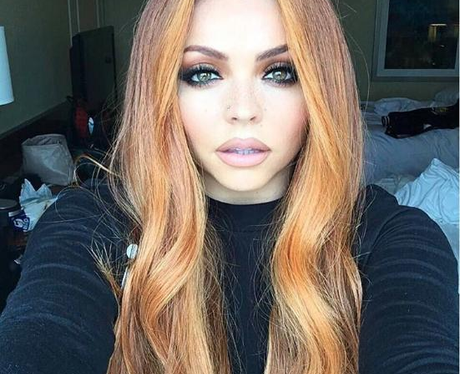 Little Mix's Jesy Nelson Shows Off Her Fiery Orang