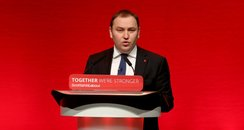 Labour MP Ian Murray at Scottish Party Conference