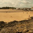 The beach at Barry Island