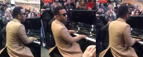 John Legend - St Pancras Station