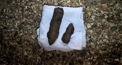 Unexploded Shells Milford on Sea
