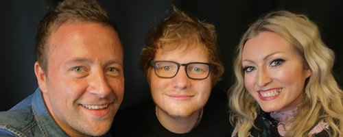 Justin & Kelly Ed Sheeran