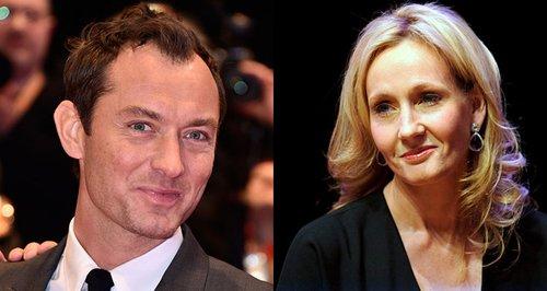 Jude Law JK Rowling