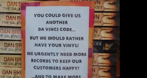 Da Vinci Code Oxfam