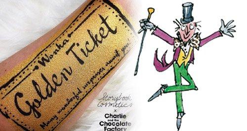 Roald Dahl Charlie and Chocolate Factory Makeup