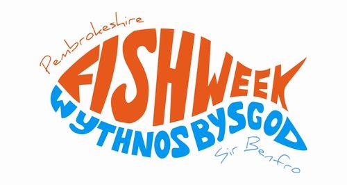 Pembrokeshire fish festival logo