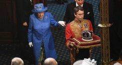 Queen Elizabeth Opening Of Parliament