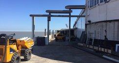 Clacton Pier work 2017