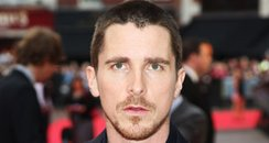 Christian Bale at The Dark Knight Premiere