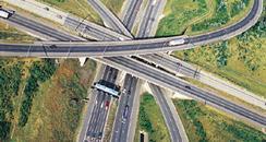 M25/M1 junction